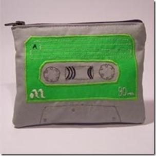 bolso cinta cassette