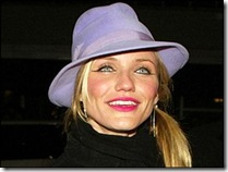 celebrity cameron hat