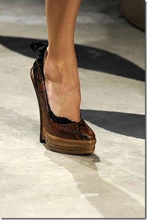 zapato Prada pv 2009