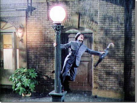 singing in the rain photo