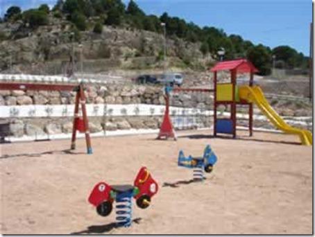 Parque Infantil con arena