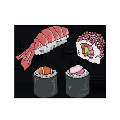 Tattoonie sushi time art 1024x1024