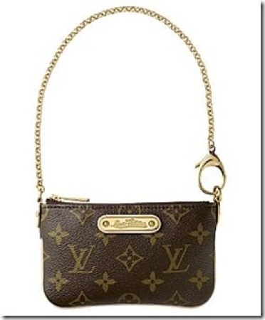 Milla monogram canvas pochette pm thumb