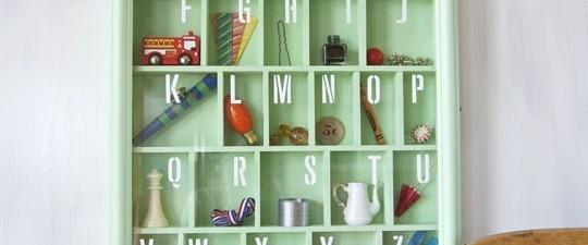 Ocio en familia: Cuadro con alfabeto
