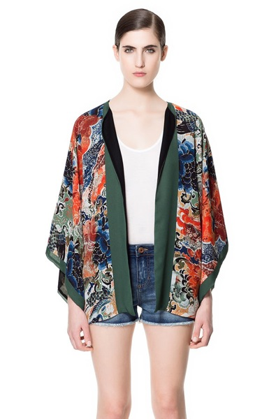 Kimono zara 4