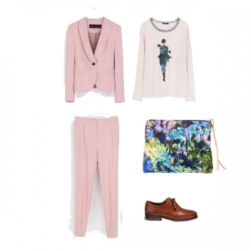 chaqueta rosa-pantalon-rosa-laratitapresumida