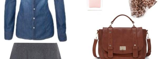 Compras otoñales: Falda gris